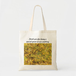 A Field of Yellow Flowers by Van Gogh Budget Tote Bag