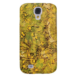 A Field of Yellower Flowers, Vincent Van Gogh Samsung Galaxy S4 Cases