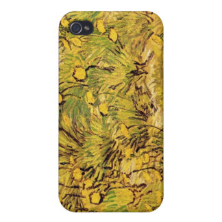 A Field of Yellower Flowers, Vincent Van Gogh iPhone 4/4S Cases
