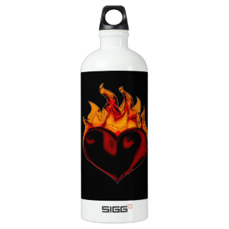 A Fiery Heart Wins Every Time Traveller (1.0L) SIGG Traveller 1.0L Water Bottle