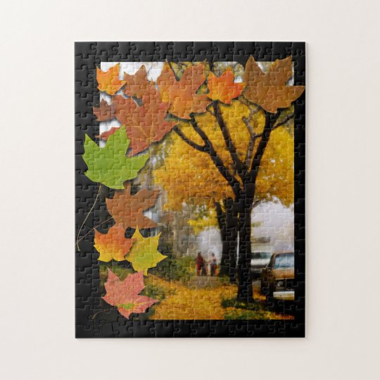 A Fine Autumn Day Jigsaw Puzzle