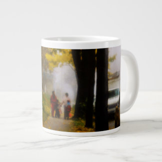 A Fine Autumn Day Large Coffee Mug