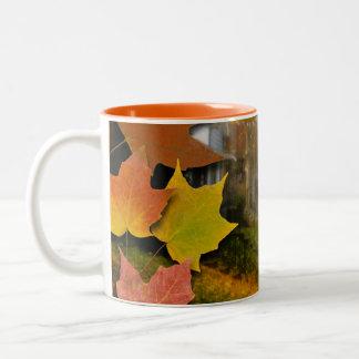 A Fine Autumn Day Two-Tone Coffee Mug