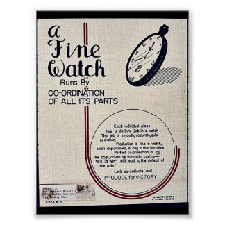 A Fine Watch Poster