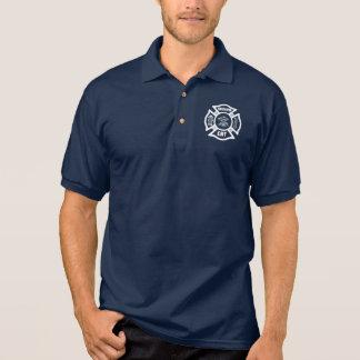 A Fire Dept EMT Polo T-shirt