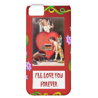 A fire in the heart, case for the iPhone 5