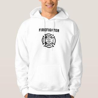 A Firefighter Logo Hoodie