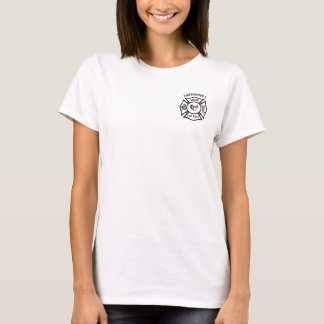 A Firefighter's Wife Maltese Logo T-Shirt