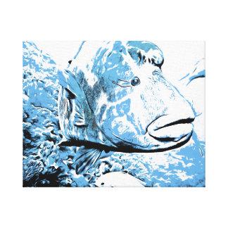A fish called Wally Canvas Print