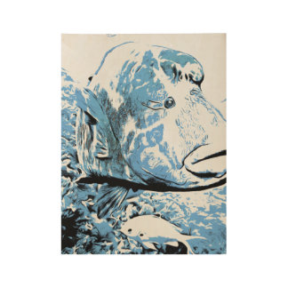 A fish called Wally Wood Poster