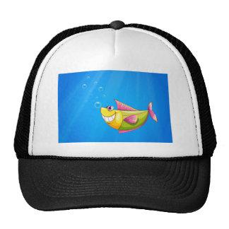 A fish in the sea cap