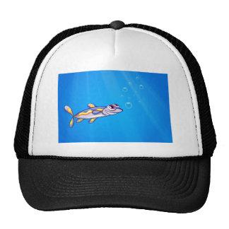 A fish under the sea cap