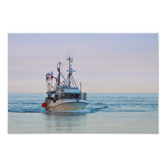 A fishing boat on the Baltic Sea Art Photo