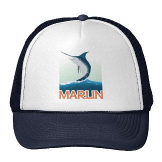 A fishing gift from sea: Shiny marlin Cap