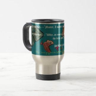 """A Fishy Metaphor"" Travel Mug"