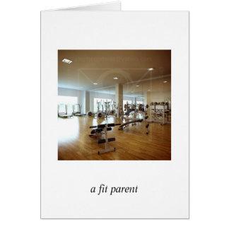 a fit parent card