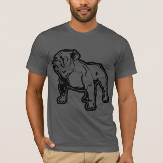 A Fitted Bulldog Tee by Mini Brothers