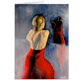 A FLAMENCO DANCER -3 CARD