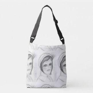 A Flapper Crossbody Bag