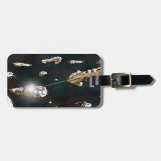 A Fleet Action Luggage Tag