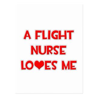 A Flight Nurse Loves Me Postcards