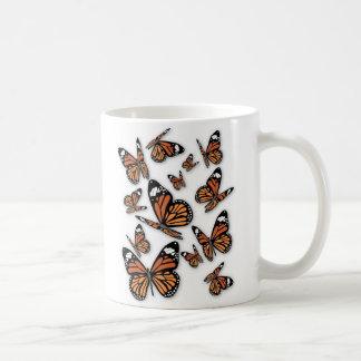 A Flight of Butterflies Basic White Mug