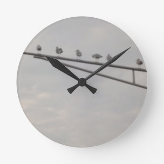 A Flock Of Seagulls Round Clock
