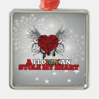 A Floridian Stole my Heart Ornament