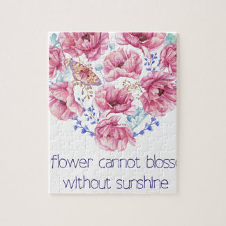 A flower cannot blossom jigsaw puzzle