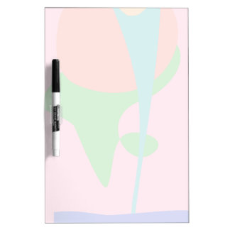 A Flower in the Vase Dry-Erase Board