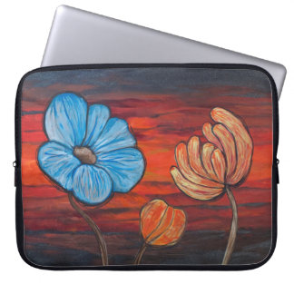A flowery day to put a computer away laptop sleeve