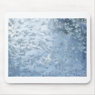 A Flurry Of Frost Flowers Mouse Pad