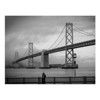 A Foggy Day on the Bay Postcard