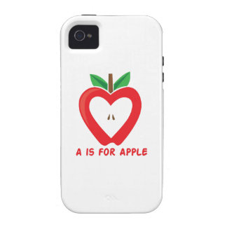 A For Apple Vibe iPhone 4 Covers