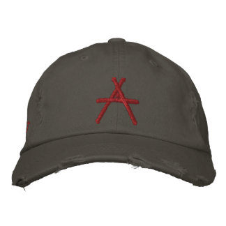 A for Atheist hat