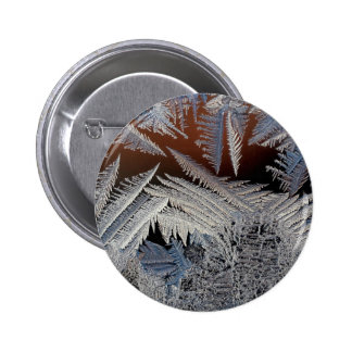 A forest of ice crystals pins