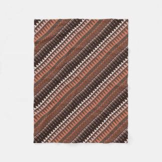 A Forest Pattern Fleece Blanket