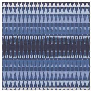 A Forest Pattern Midnight Blue Fabric