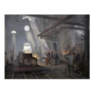 A Forge, 1893 Postcard