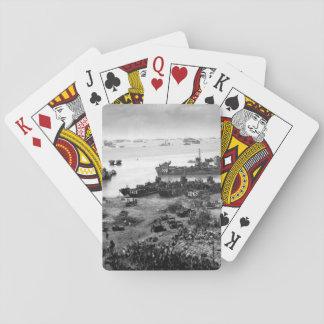 A formidable task force carves out_War Image Poker Deck