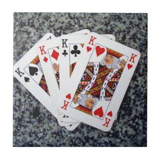 A FOUR KING GOOD HAND !! TILE