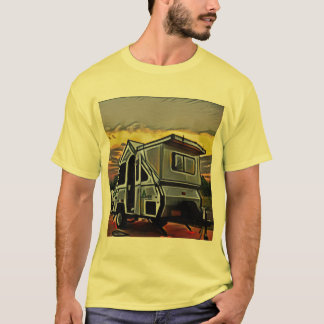 A-Frame Camper T-shirt (men)