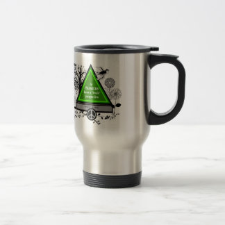 "A framers with ""tude"" travel mug"