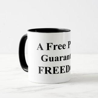 """A Free Press"" Mug 1"