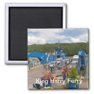 A fridge magnet for fans of the King Harry Ferry