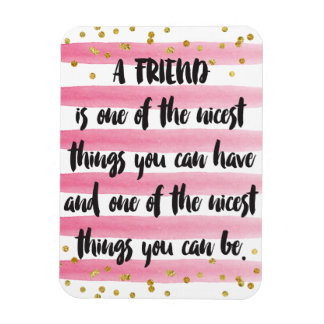 A friend is one of the nicest things you can have magnet