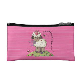 A Friend Loves Cosmetic Bag