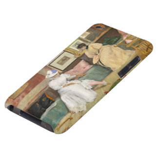 A Friendly Call, 1895 (oil on canvas) Barely There iPod Covers