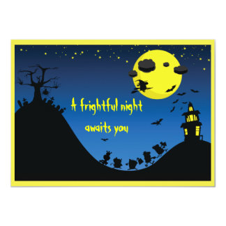 A Frightful Night - Card