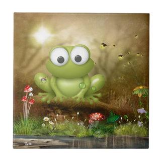 A Frog sLife Tile